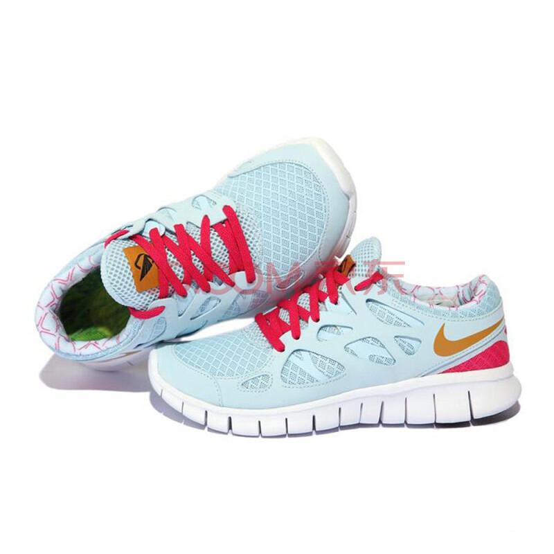 耐克nike女鞋跑步鞋-454206-470 蓝色 36