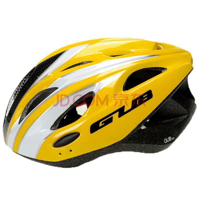 ... 騎行安全帽護具后帶警示燈山地車裝備配件用品 黃色