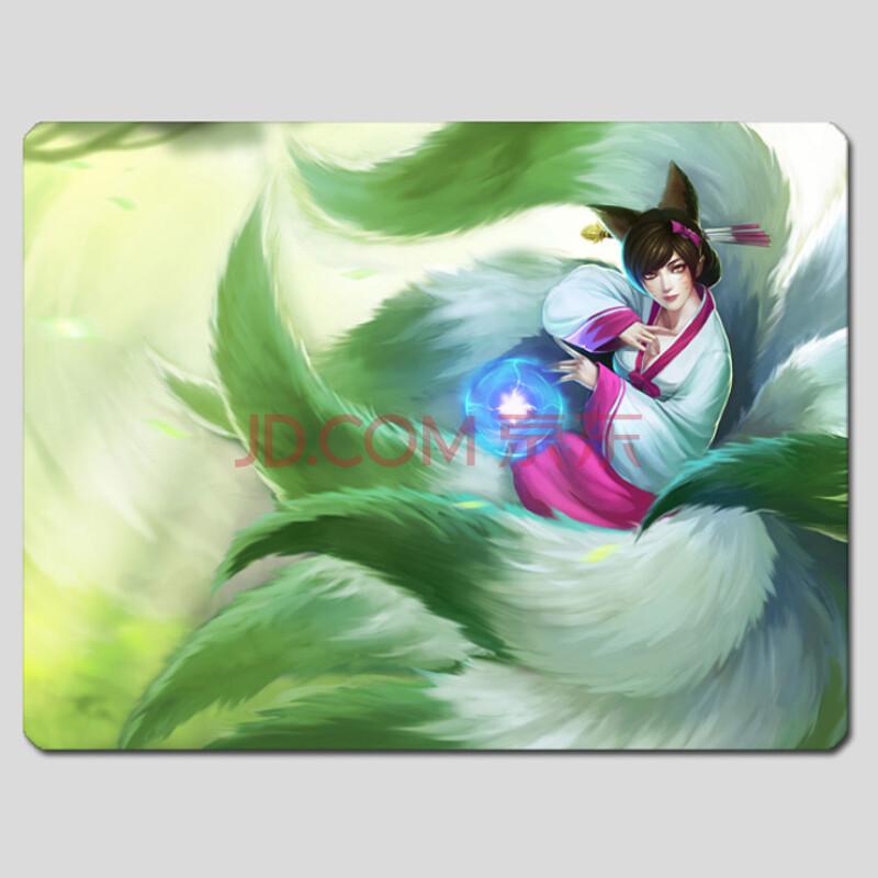 漫游引力 英雄联盟周边 九尾妖狐阿狸 高丽风情 高清图片