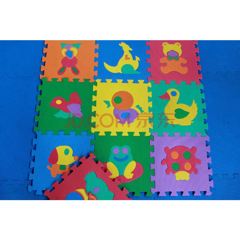 环保益智儿童字母数字动物交通拼图eva爬行