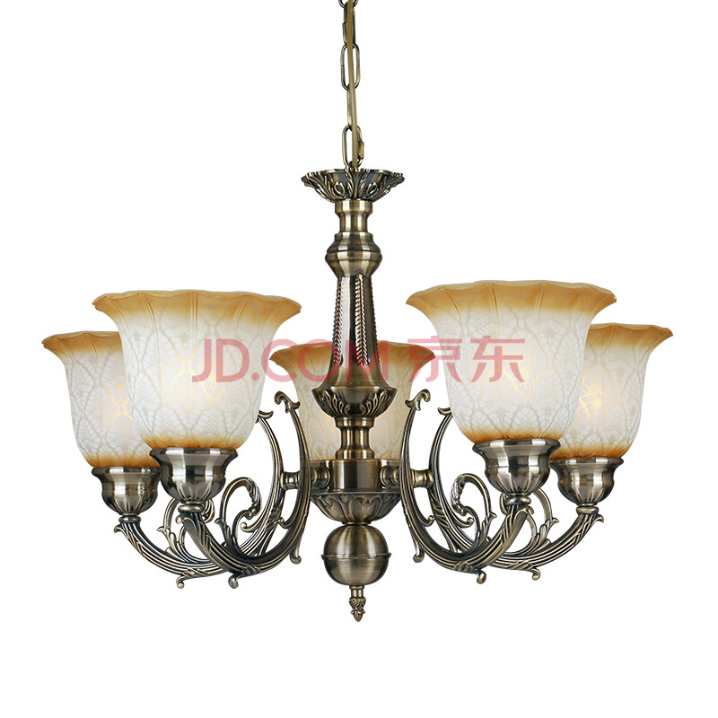 欧式田园吊灯现代简约客厅灯卧室灯