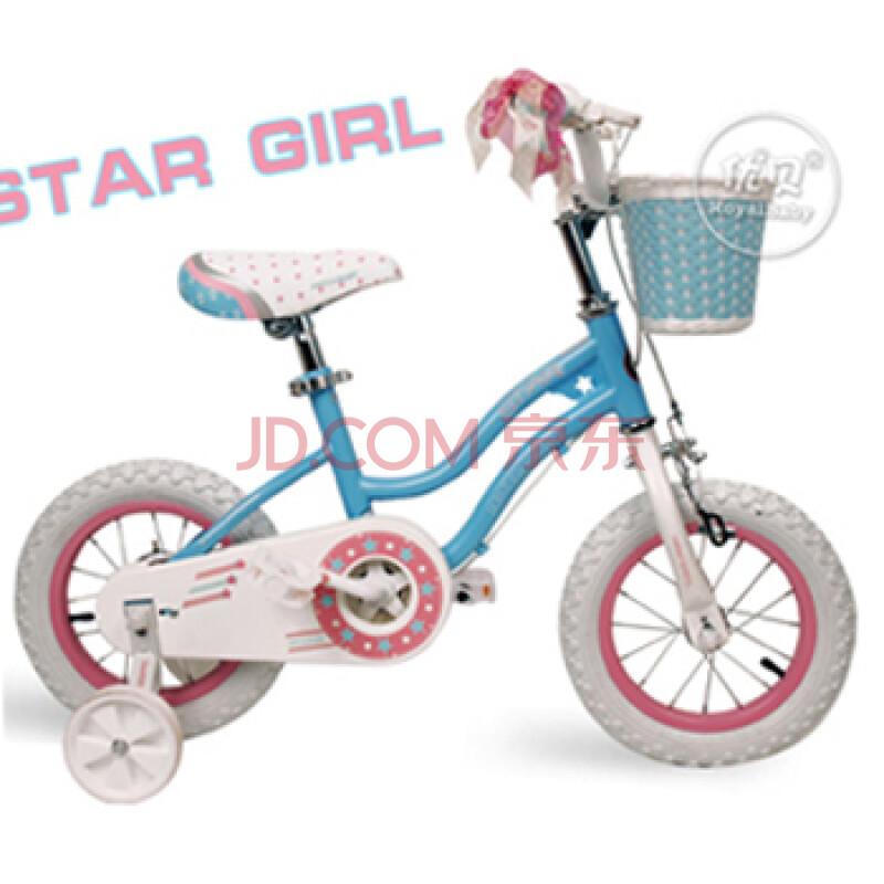 优贝儿童自行车星女孩12寸14寸16寸童车全新上市