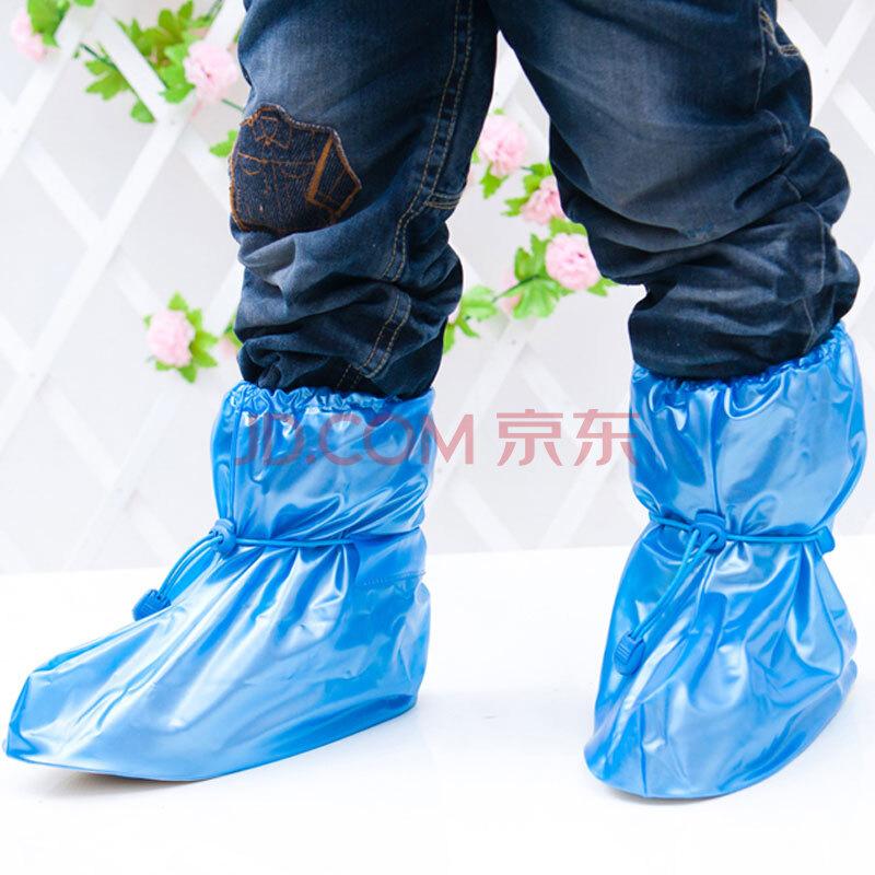 儿童长筒型雨鞋套防雨鞋套