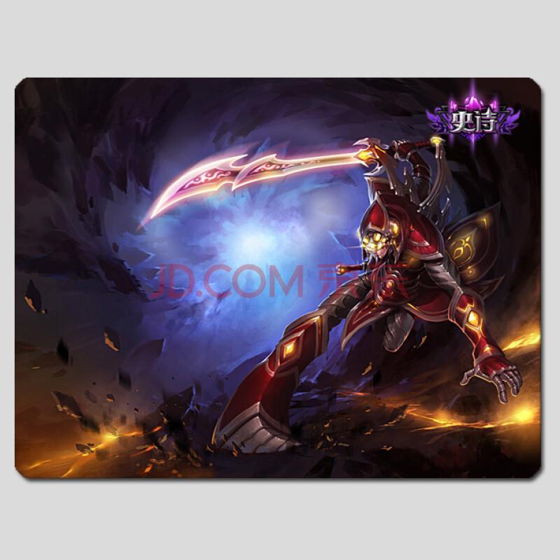 游戏周边 英雄联盟 lol 无极剑圣 易 天人合一皮肤鼠标垫 超高清图片