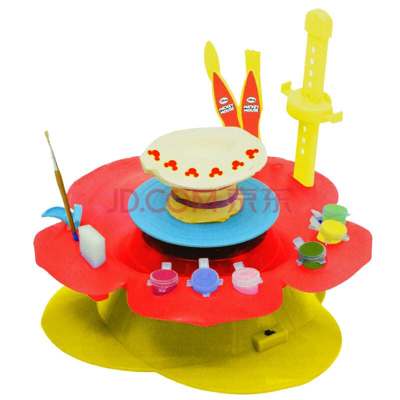 陶土机益智玩具米奇陶艺工坊儿童diy手工玩具制作