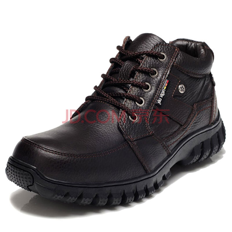 时尚潮流行冬季加绒男鞋子