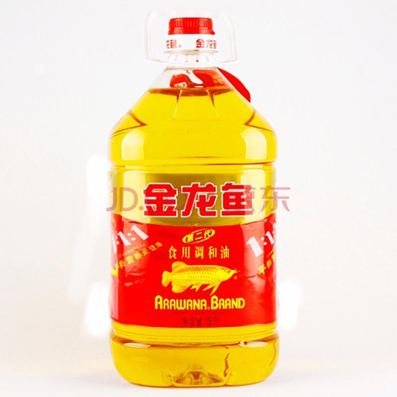金龙鱼二代食用调和油5l