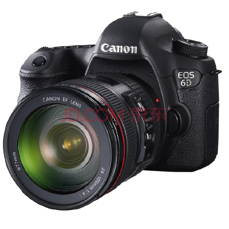 佳能(Canon) EOS 6D 单反套机(EF 24-105mm f/4L IS USM 镜头)