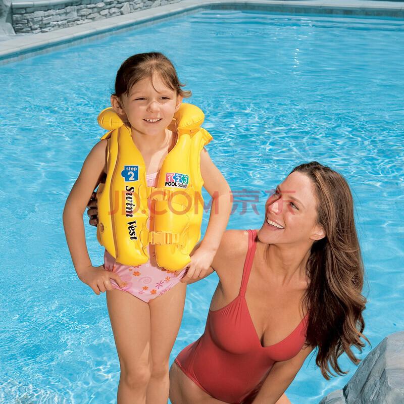 泳校游泳背心 儿童救生衣