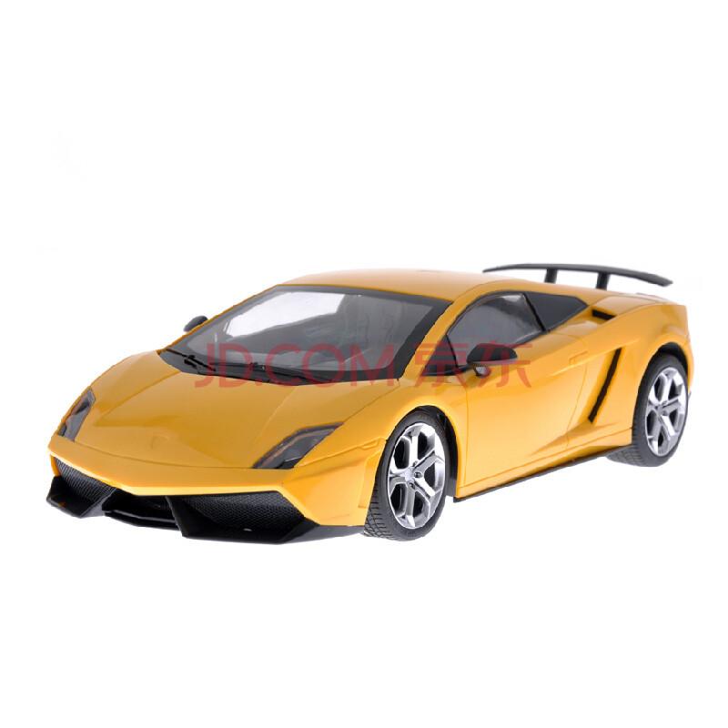 孙小圣兰博基尼遥控汽车充电无线遥控赛车 黄色