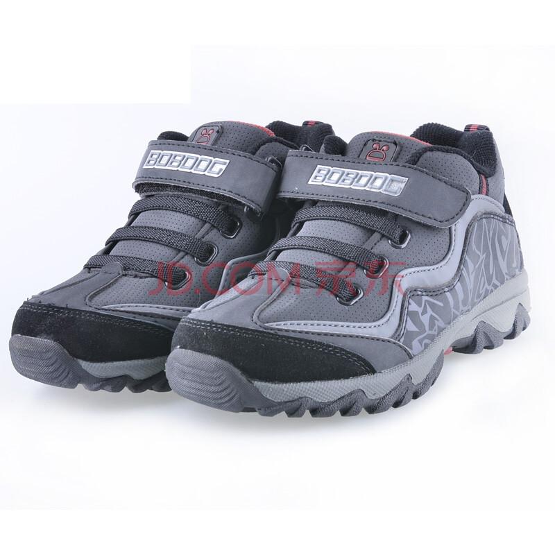 巴布豆活力(bobdog)冬季新款童鞋探索男中童户外鞋b0528916科学黑色计算器kenko图片