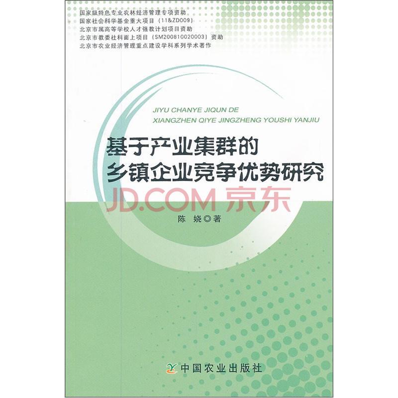 基于产业集群的乡镇企业竞争优势研究