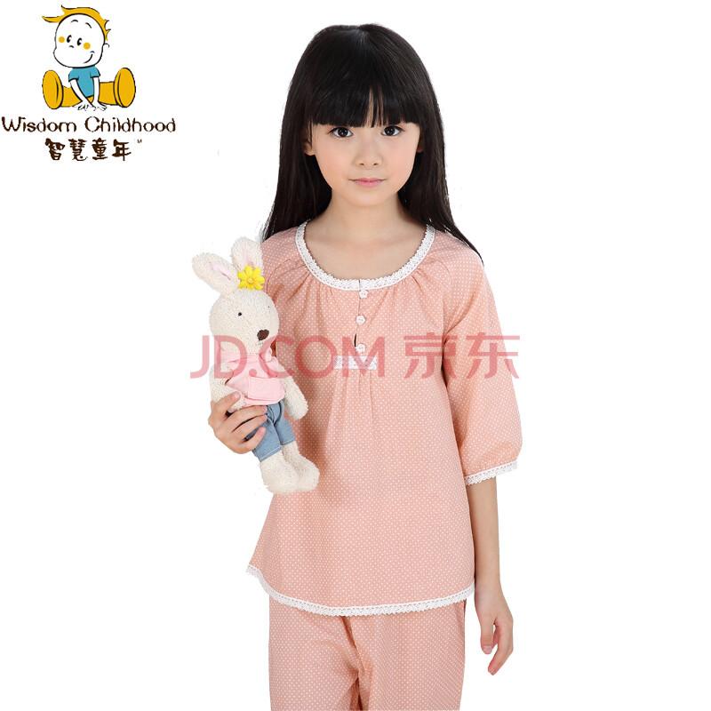 童装夏季新品儿童睡衣套装女韩版女童可爱