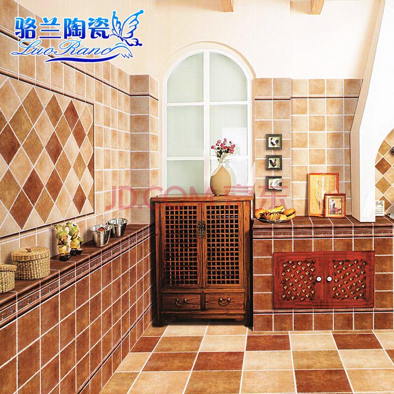 骆兰马拉古兹仿古砖 田园地中海风格 厨房卫生间墙砖图片