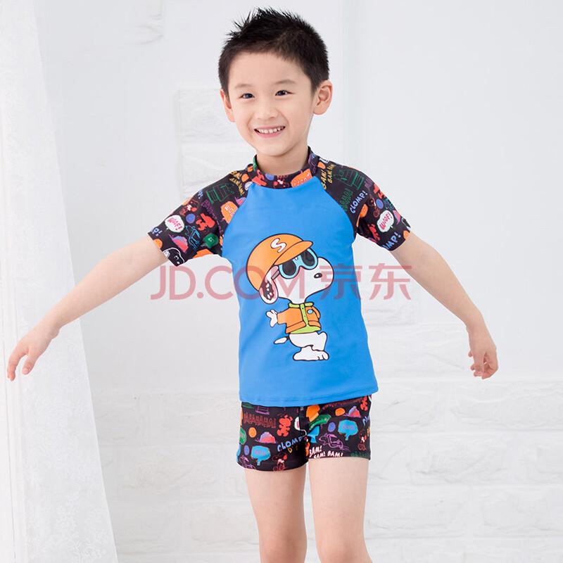 童_三奇2015 儿童分体游泳衣韩国泳裤可爱卡通亲子中大童