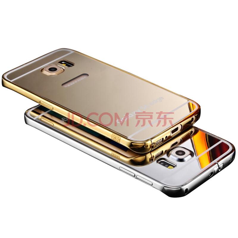 kxx 三星s6手机壳手机套保护套金属边框 适用于三星s6/s6 edge s6