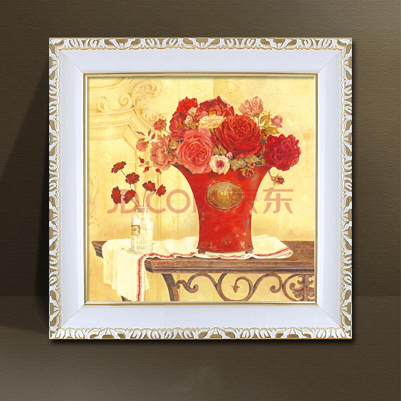 客廳裝飾畫 風景畫有框三聯畫現代簡約歐式水晶掛畫 沙發背景墻壁畫