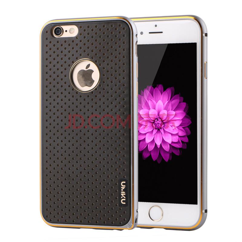 umku iphone6手机壳金属边框适用于苹果6手机壳/iphone6plus保护套 4.