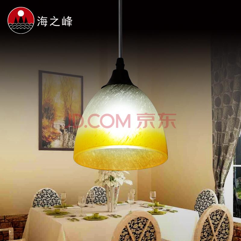 时尚浪漫酒吧餐吊灯饭厅灯餐桌灯欧式 单头黑底盘a款 全套进口3w led图片