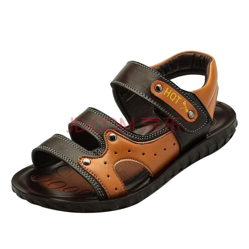 红蜻蜓童鞋 2015夏季新款儿童凉鞋真皮