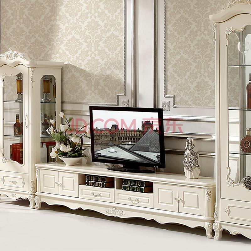 布佳伲 欧式电视柜 法式家具客厅整体电视机柜矮柜 806电视柜 欧式图片