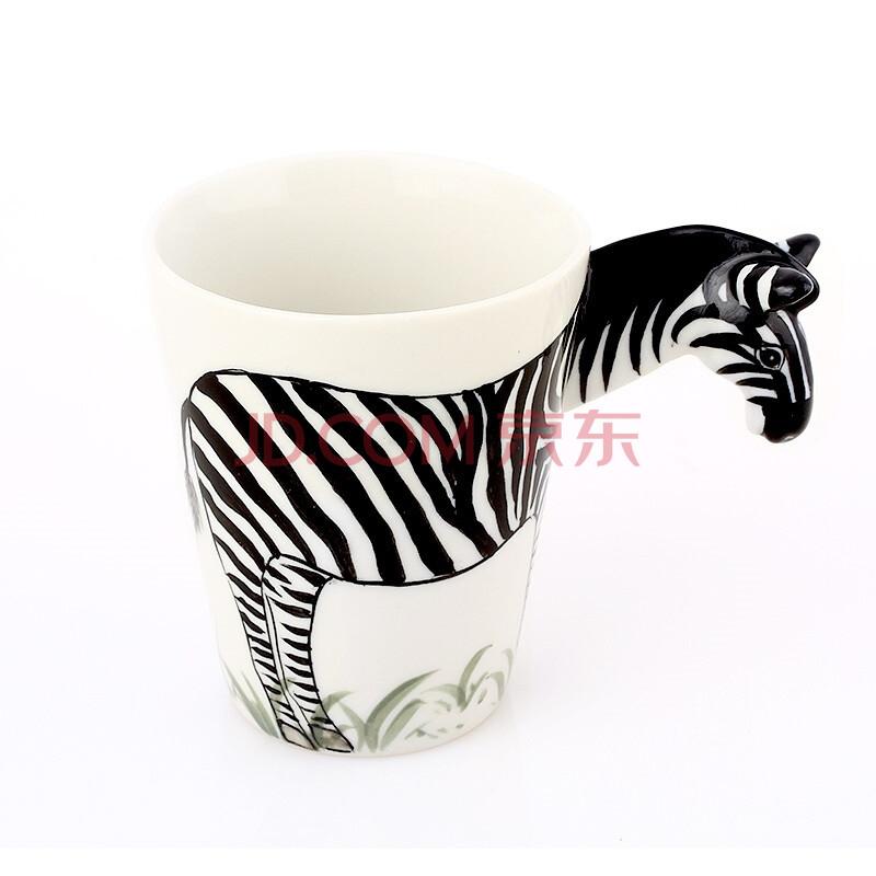 手绘3d陶瓷动物杯 马克杯 个性咖啡杯 情侣水杯 创意礼品 实用礼物