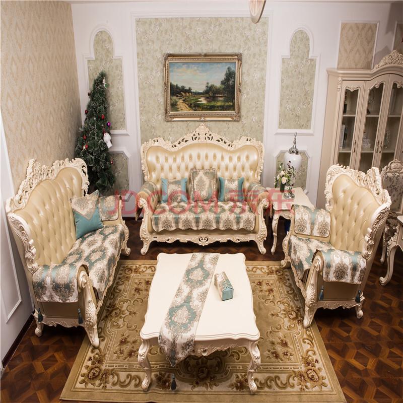 2015新款沙发垫欧式沙发垫子坐垫组合沙发套皮沙发巾图片