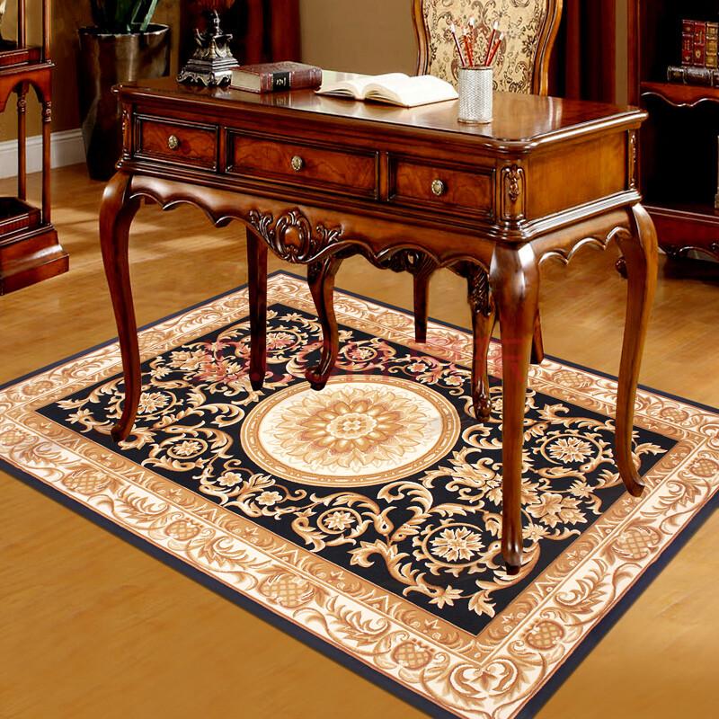 宏兴地毯客厅茶几地毯卧室床边地毯地垫古典欧式手