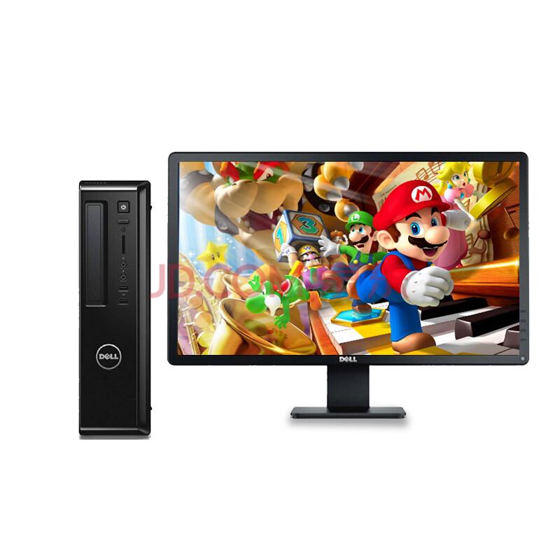戴尔(dell)3800成就台式机 商用电脑g3260 4g 500g dvd win7 3800图片