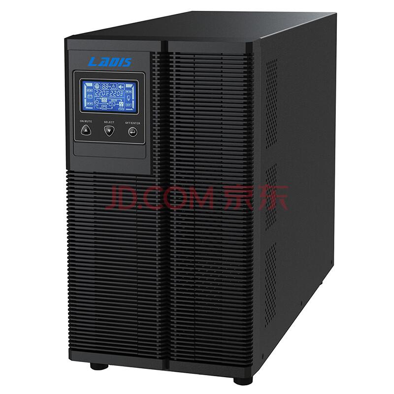 雷迪司G3K在线式UPS不间断电源3000VA 2400W液晶显示自动开关机