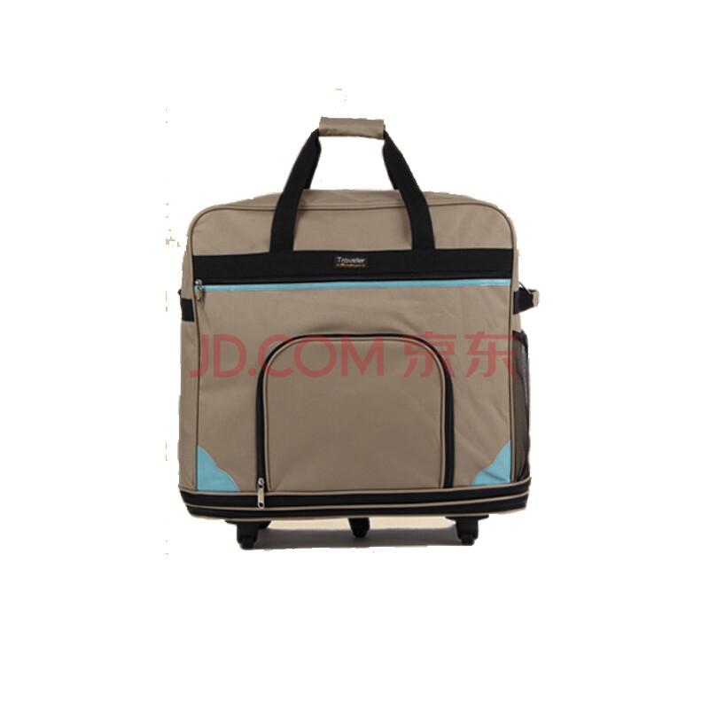 旅行箱大容量 158航空飞机托运箱包 折叠旅行袋万向轮