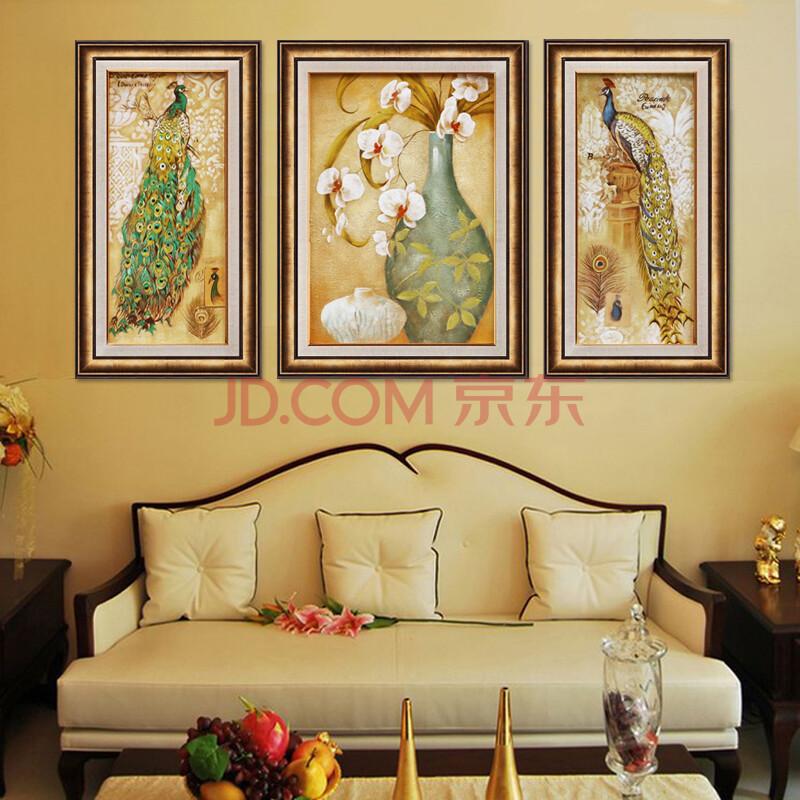 欧式高端客厅家居装饰画