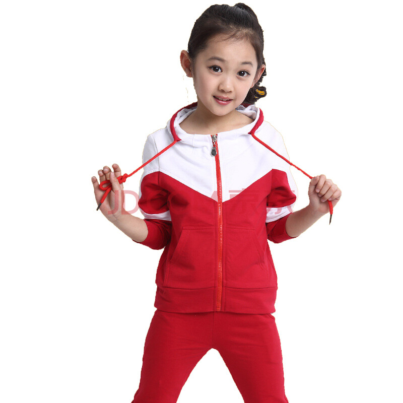 童装女童秋装套装2015新款儿童秋季长袖卫衣小中大童