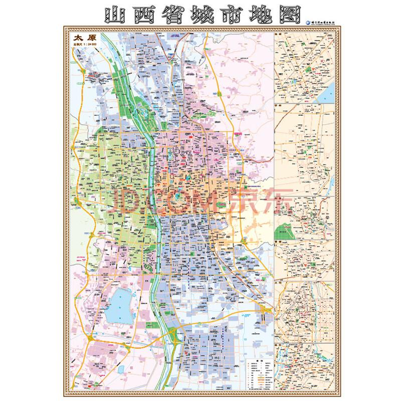 晋城 临汾地图