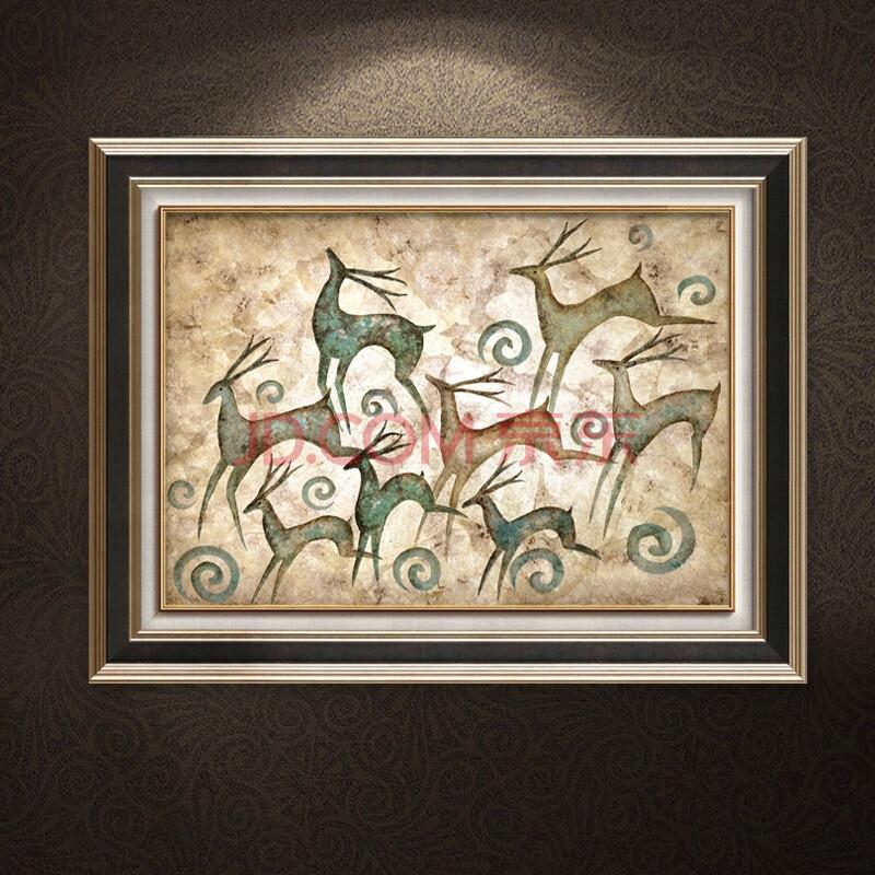 欧喆 客厅现代简约 客厅装饰画 餐厅壁画卧室欧式挂画图片