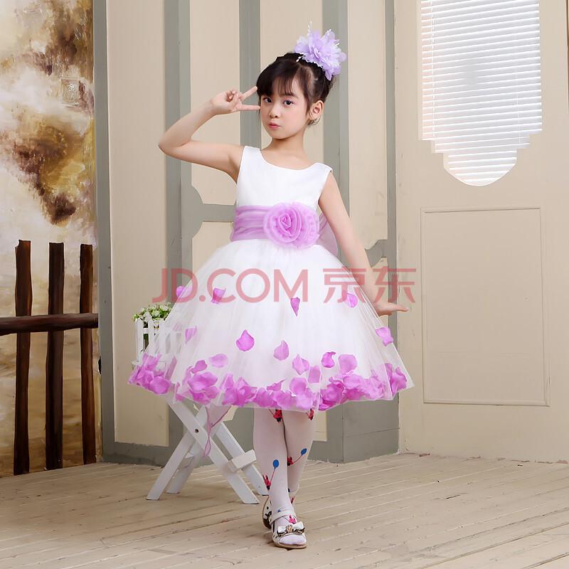 花童礼服裙 儿童婚纱裙