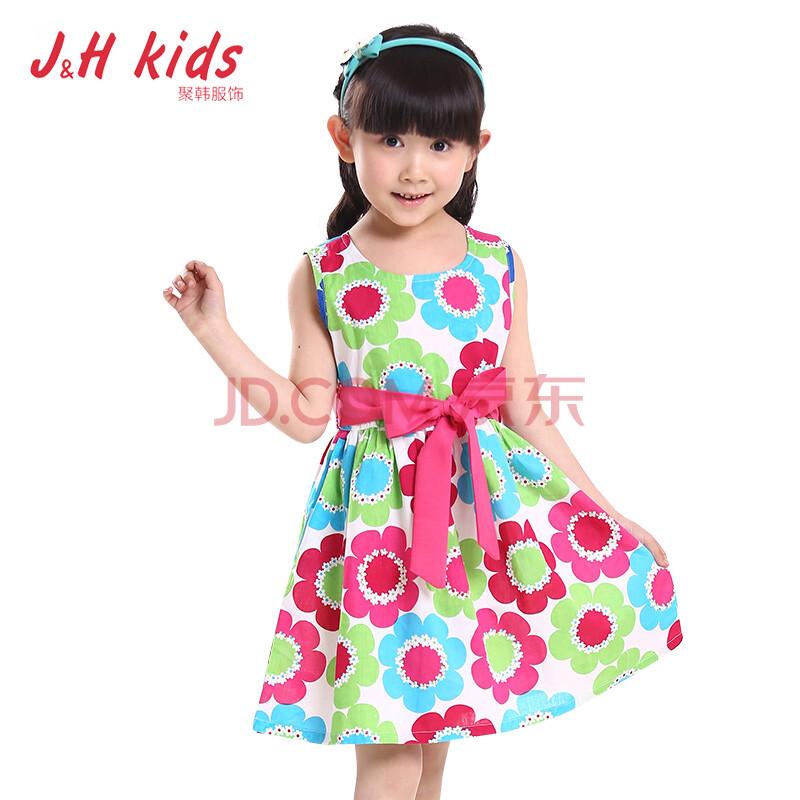 款女童连衣裙韩版儿童夏装
