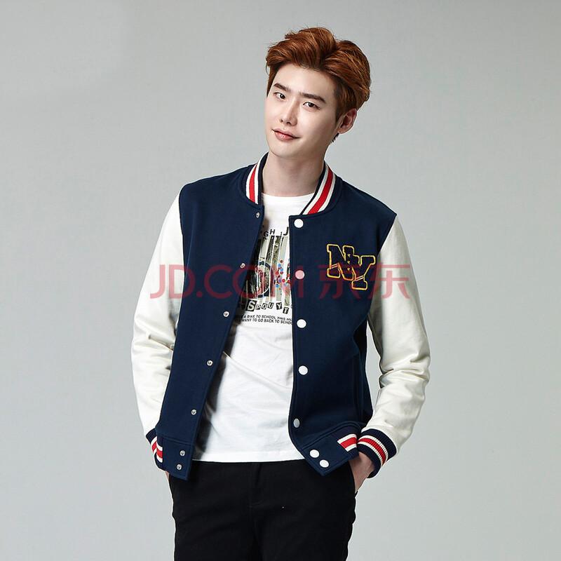 森马男士夹克外套 2015秋装新款 男装休闲直筒立领薄款棒球服韩版图片