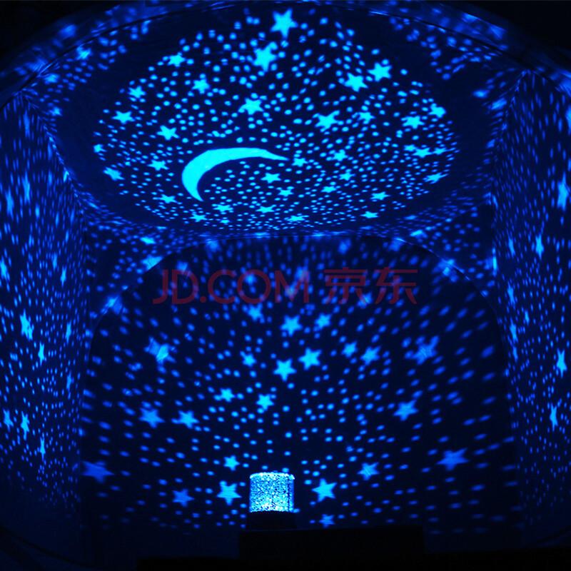 星空灯旋转音乐投影仪 浪漫彩虹海洋投影灯 创意礼品生日礼物男送女友