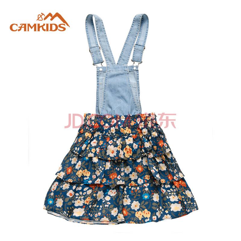女款裙子 女童背带裙