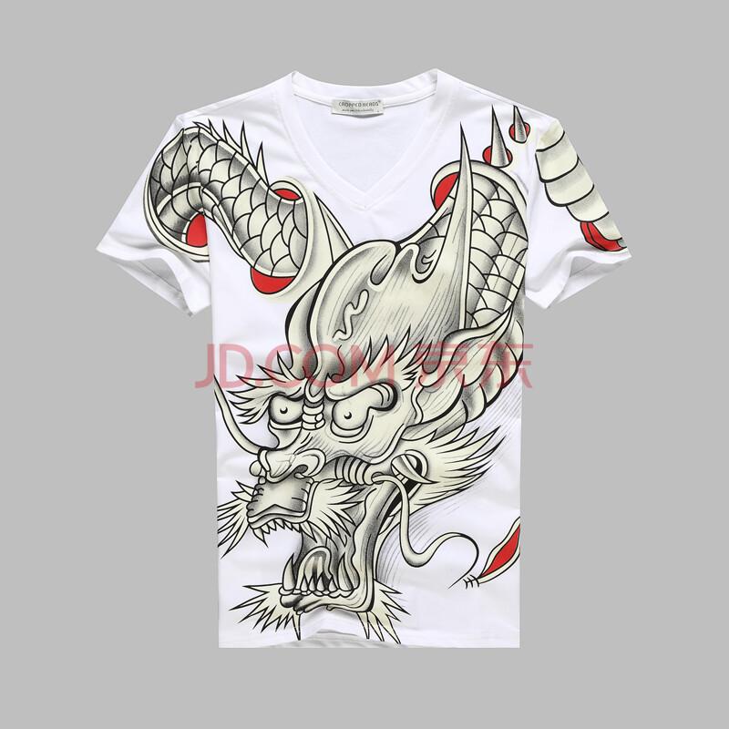原创中国风潮男t恤
