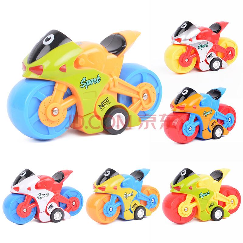 汇乐玩具 惯性玩具动物惯性车工程车玩具小车婴幼儿玩具卡通小车宝宝