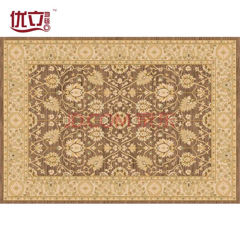 土耳其进口高档客厅地毯波斯简约卧室满铺地垫