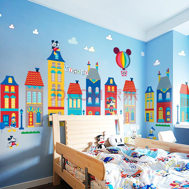 卧室床头婴儿房儿童房宝宝幼儿园卡通墙贴