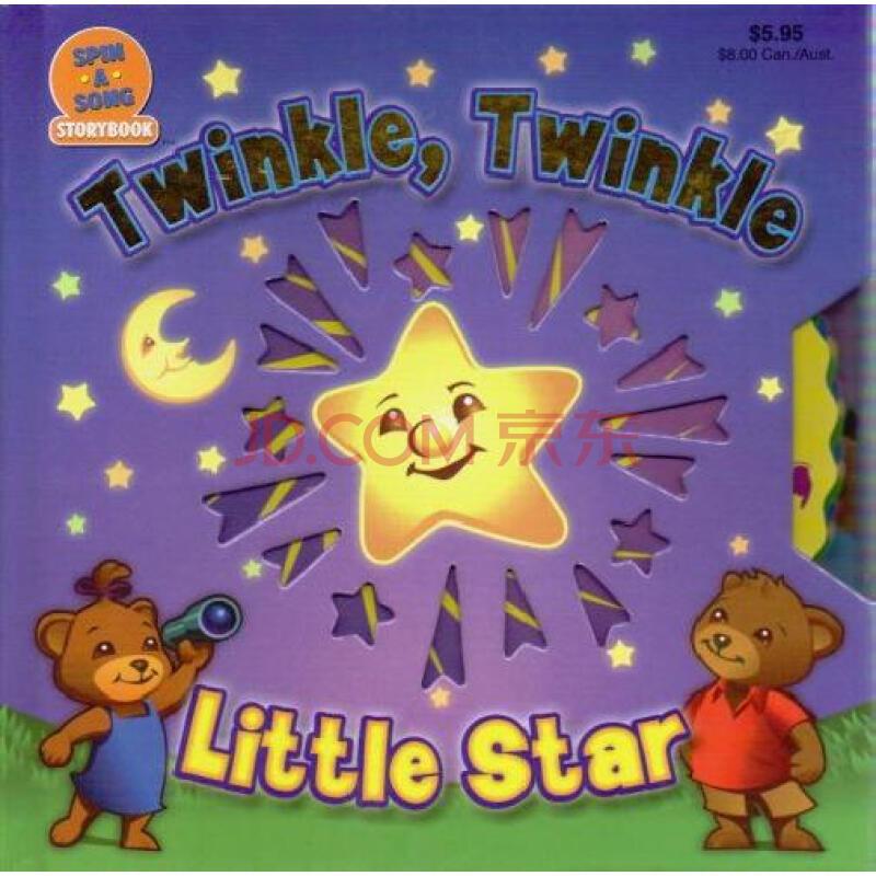 twinkle twinkle little star 一闪一闪小星星原版进口外文儿童绘本