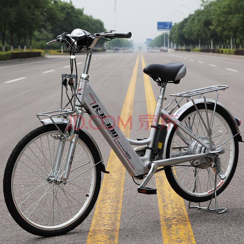 追风鸟电动自行车24/26寸智能助力车锂电电动车变速电动山地车 24寸