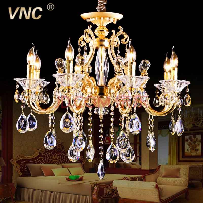 vnc欧式锌合金水晶灯具