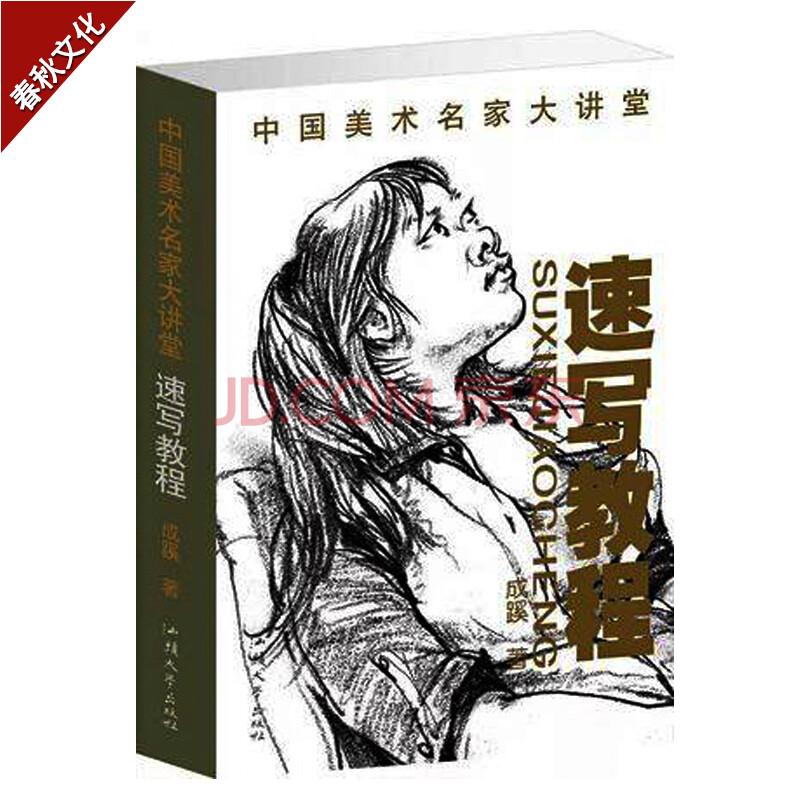 中国美术名家大讲堂 速写教程 速写书人线描风景场景创意建筑线性零图片