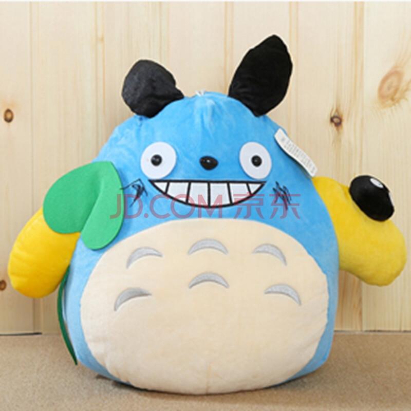 龙猫公仔宫崎骏绒玩具抱枕靠垫枕布娃娃