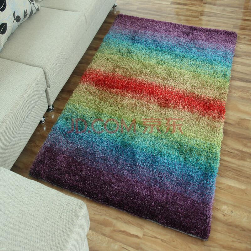 馨慧 客厅地毯卧室床边彩虹厨卫地垫可定制 1.4*2.0米 colour4 1.4x2.